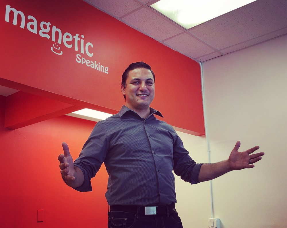 Founder Peter Khoury Magnetic Public Speaking Story